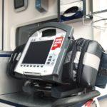 AED inside ambulance
