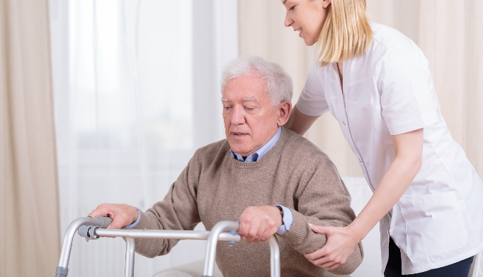 mobility and gait assessment in seniors undergoing intensive BP therapy