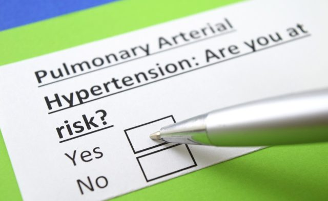 Pulmonary arterial hypertension risk, PAH