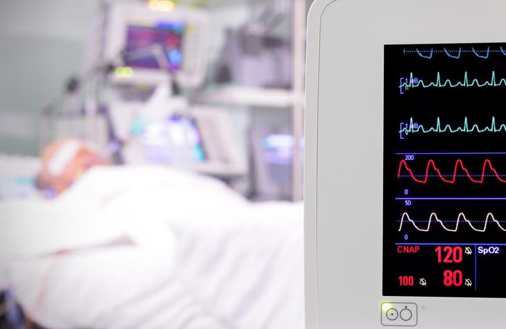ICU vital sign monitor
