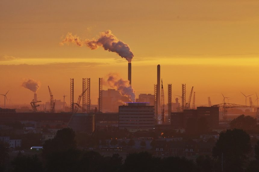 air pollution, factory pollution, toxic