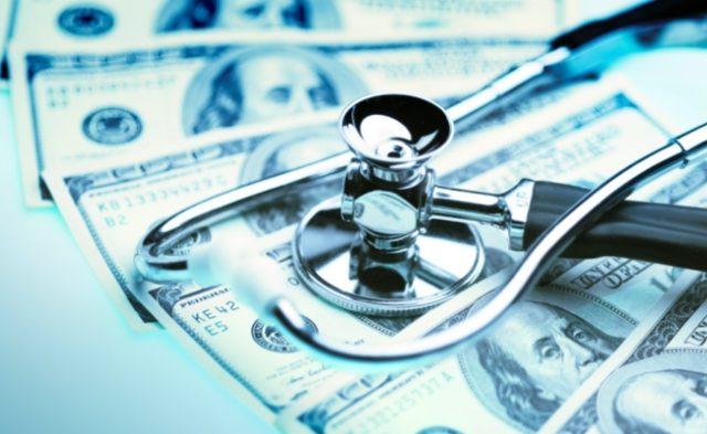 Stethoscope Money Health Costs