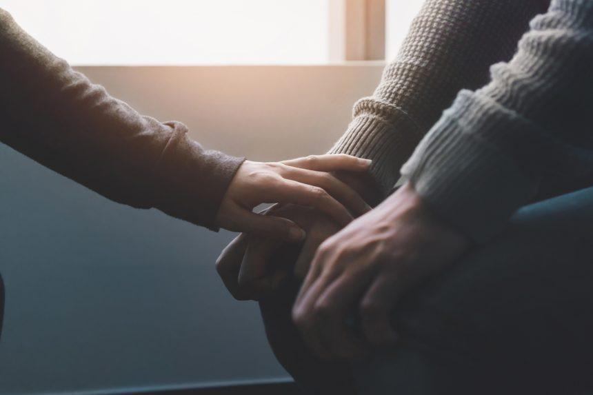 comforting patient, depression