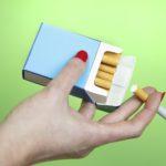 woman smoking cigarettes